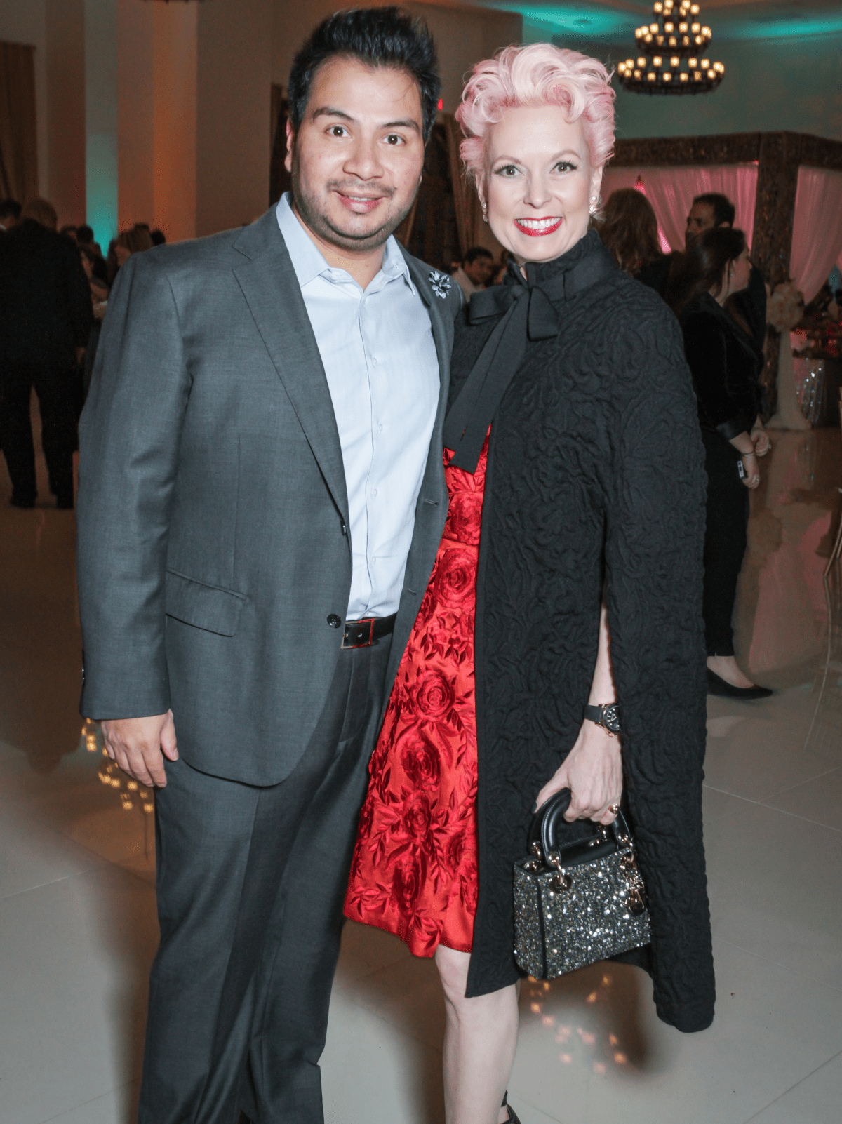 Houston, Social Book 2016 Launch Party, January 2016, Sergio Morales, Vivian Wise
