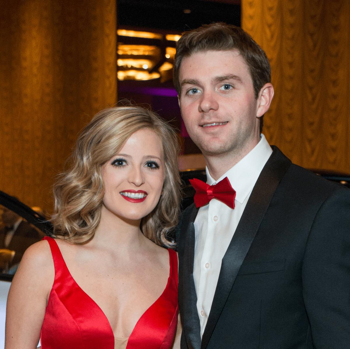 Winter Ball 2016 Allie Doyle, Patrick Ryan