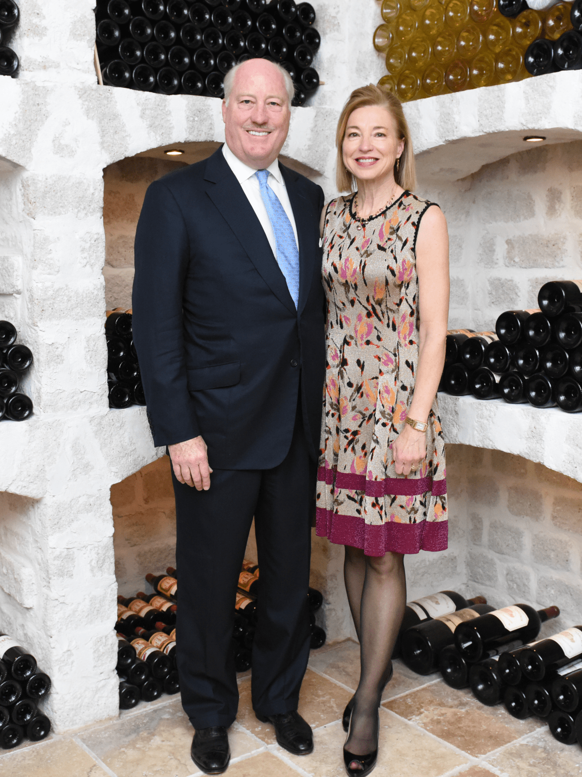 Houston, JDRF Promise Ball kick off party, January 2016, Fielding and Meredith Cocke