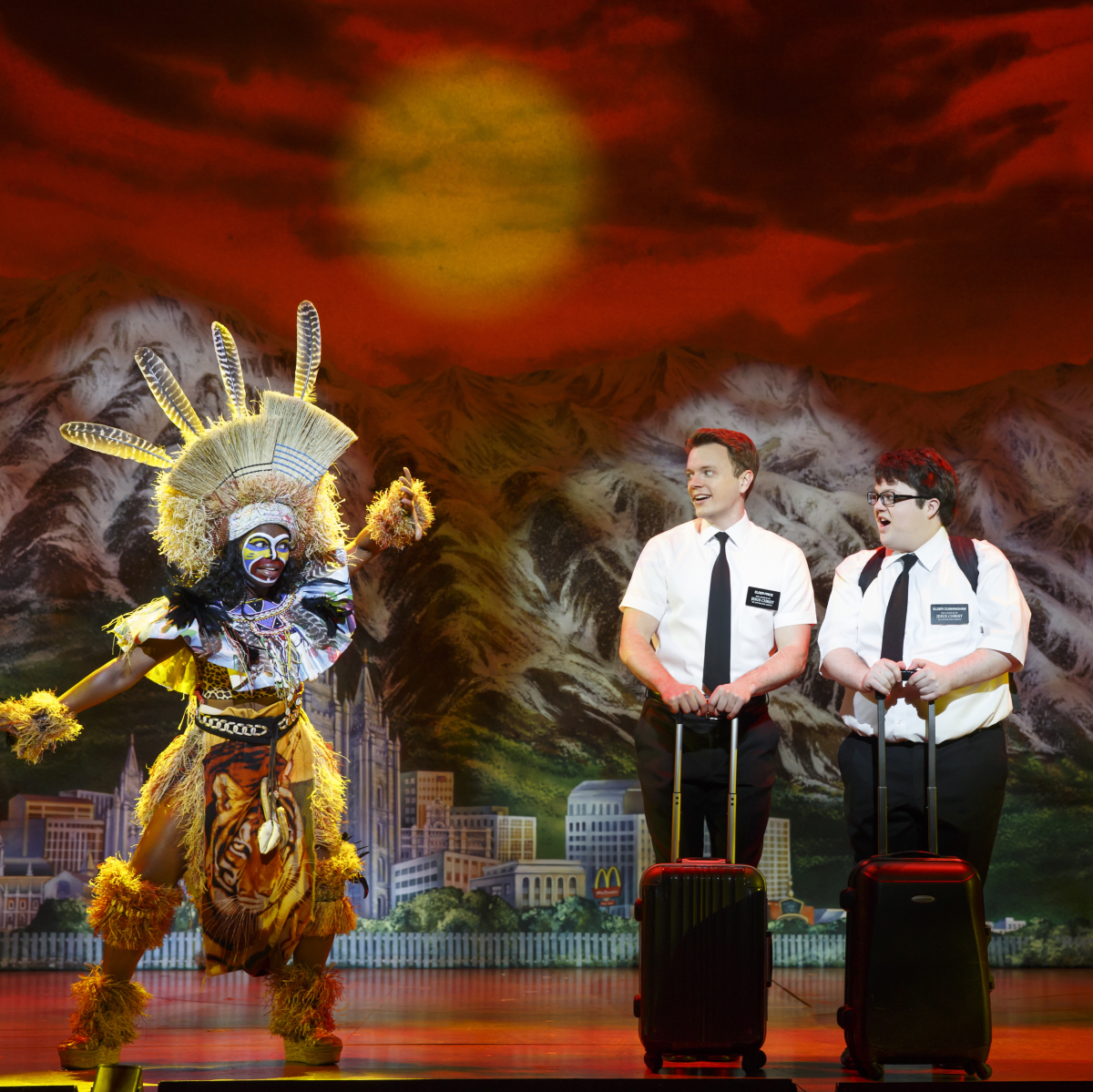 Book of Mormon Broadway at Hobby Center