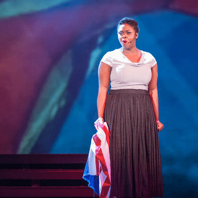 Feleceia Benton in Songs For a New World in Dallas