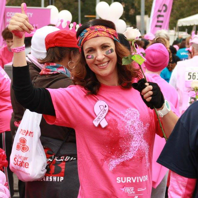 Susan G Komen Austin Race for the Cure survivor participant 2015