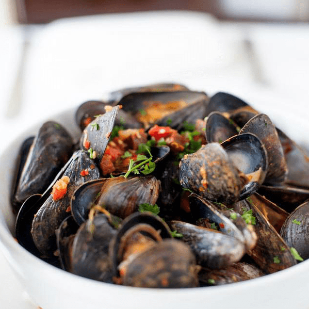 La Frite Belgian Bistro mussels