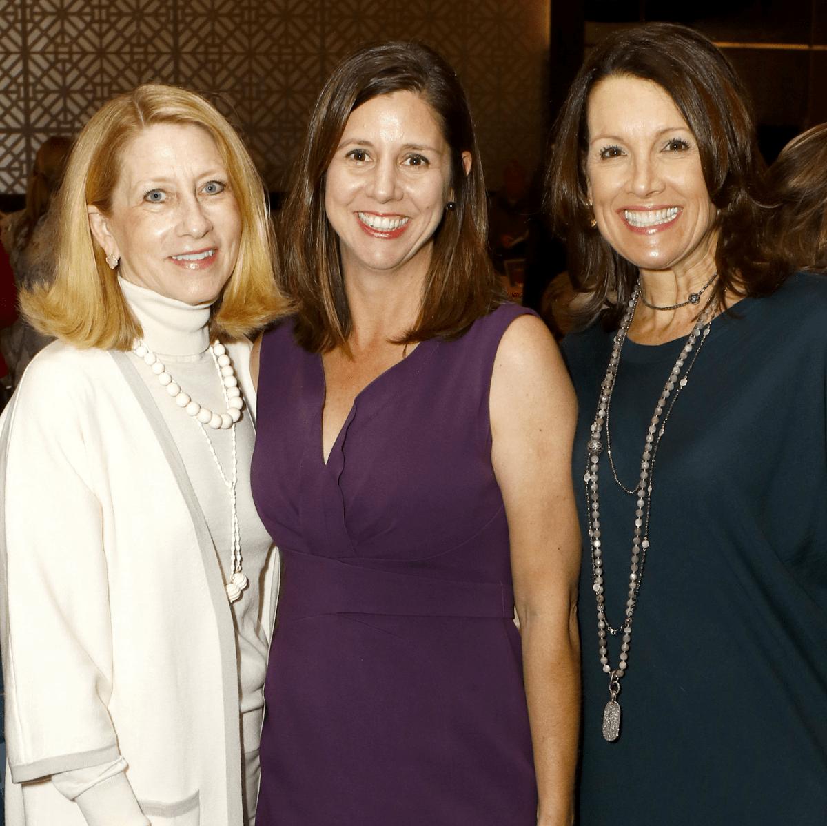 Debbie Oates, Susan Wells Jenevein, Pam Parella