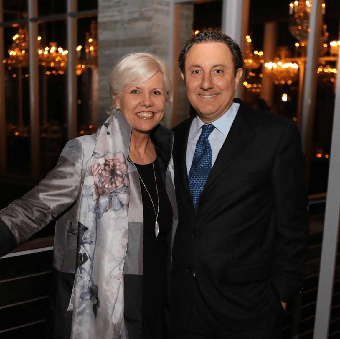 News, Equinox Opening Dinner, Dec. 2015, Sallie Sargent, Tom Ajamie