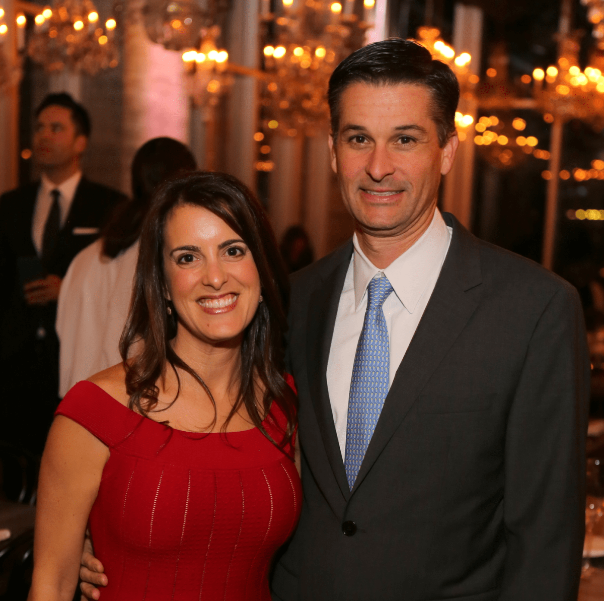 News, Equinox Opening Dinner, Dec. 2015, cute couple