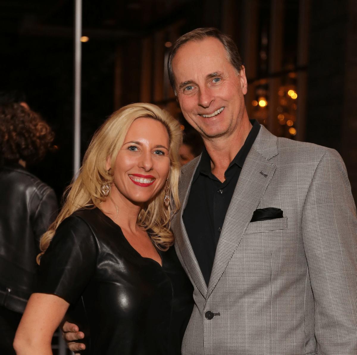 News, Equinox Opening Dinner, Dec. 2015, Tracy Faulkner, Harry Faulkner