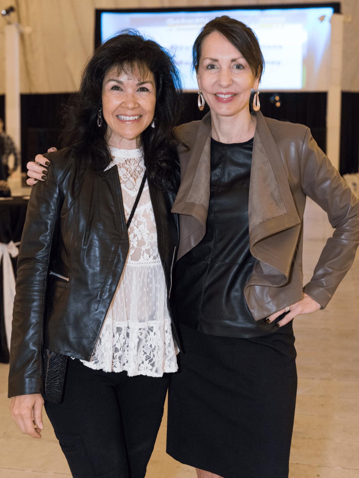 Houston, DePelchin Saturday Night Lights, November 2015, Geraldina Wise and Susie DiStefano