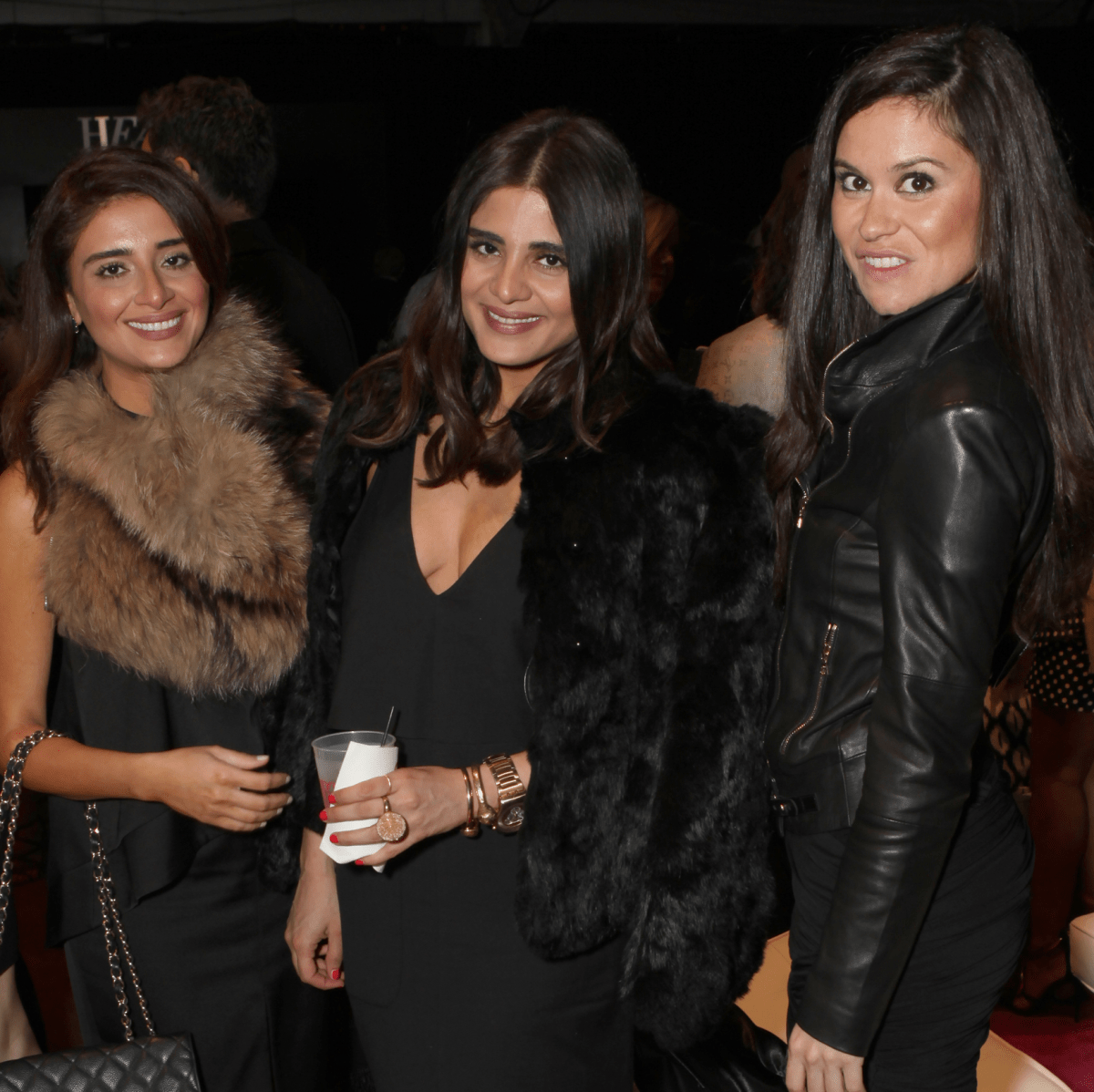Saba Jawda, Sarah Jawda, Natassia McMillian at Heart of Fashion