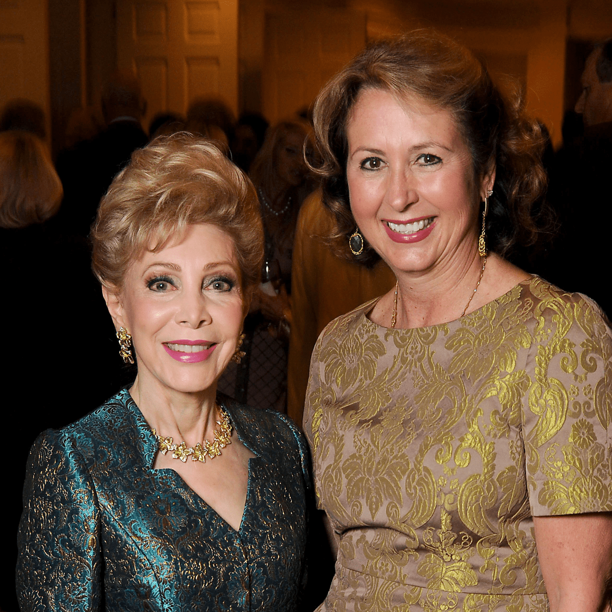 News, Shelby, TEACH dinner, Nov. 2015, Margaret Williams, Ileana Trevino