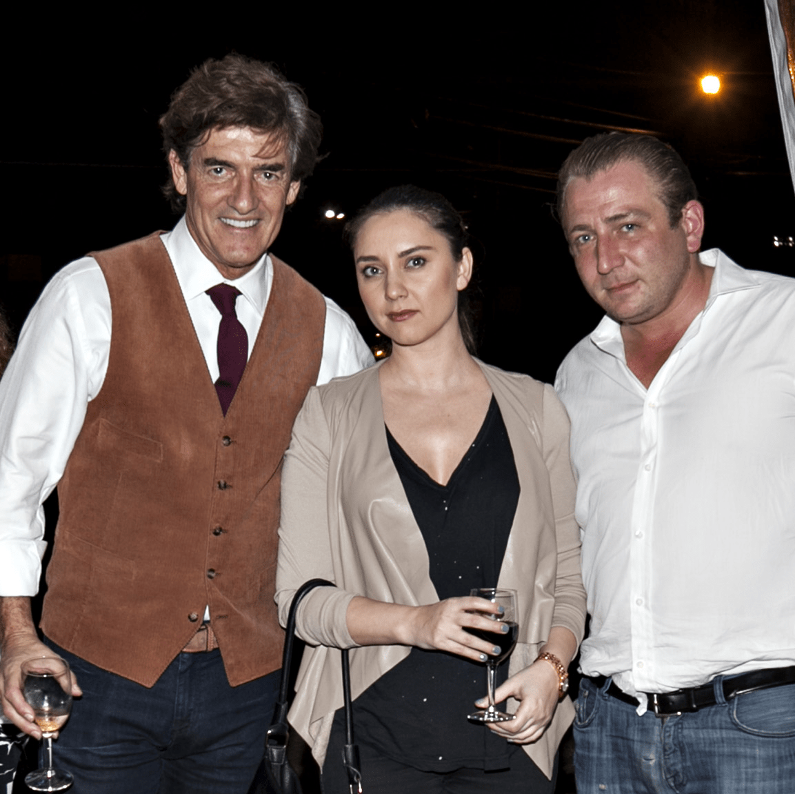 News, Shelby, Balani Opening, Nov. 2015, Nick Florescu, Georgeta Teodorescu, Ben Berg.jpg