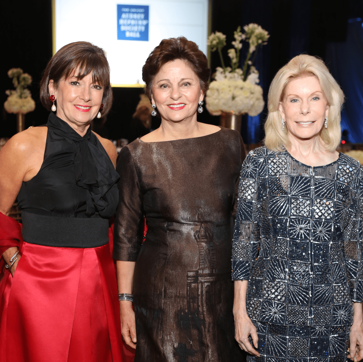 News, Shelby, UNICEF gala, Nov. 2015, Cathy Cleary, Beth Madison, Frances Marzio
