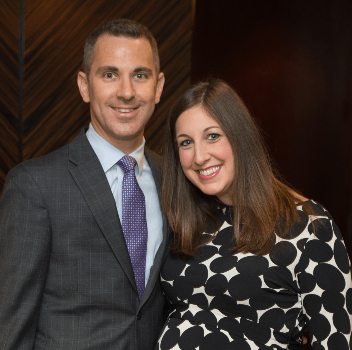 News, Shelby, Holocaust museum luncheon, Nov. 2015, David and Jennifer Stockel.