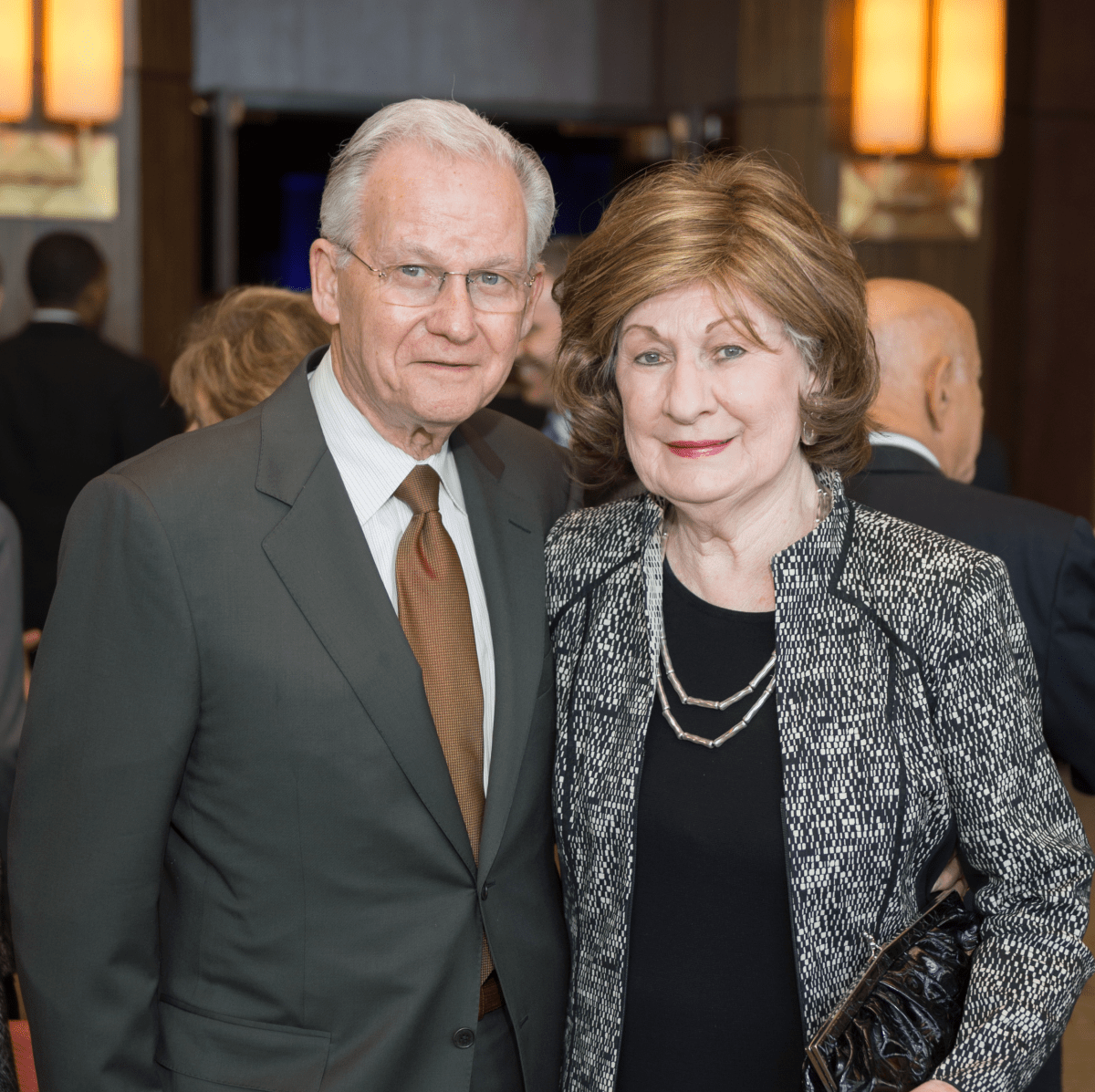 News, Shelby, Holocaust museum luncheon, Nov. 2015, Harry Mach, Cora Sue Mach