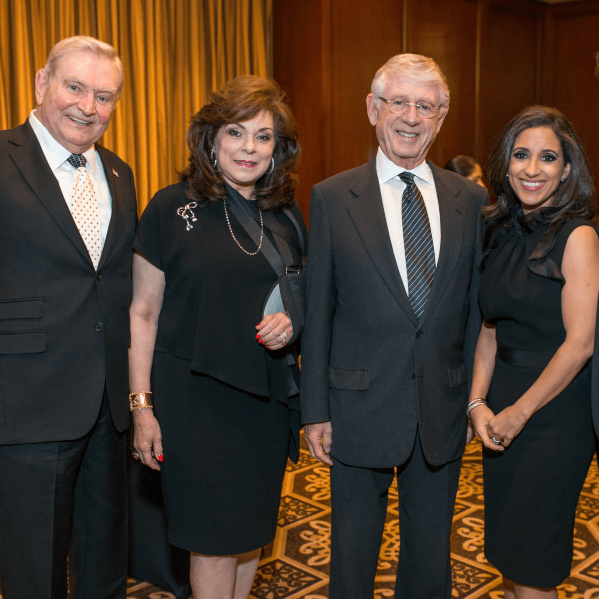 Crime Stoppers Gala Dave Ward, Laura Ward, Ted Koppel, Rania Mankarious, Ramy Mankarious