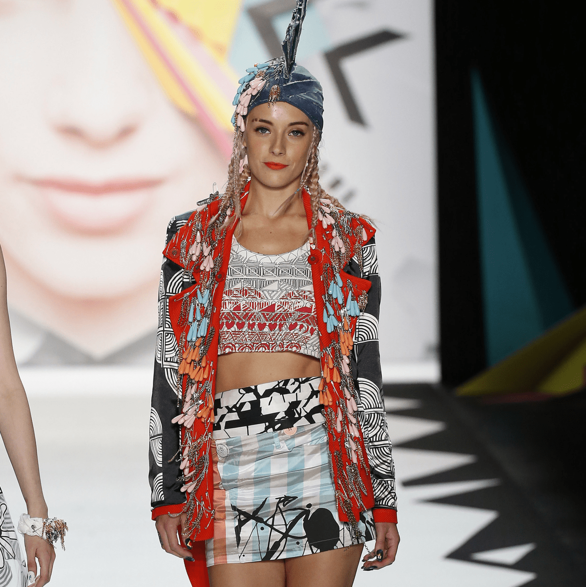 Desigual spring 2016 collection look 44