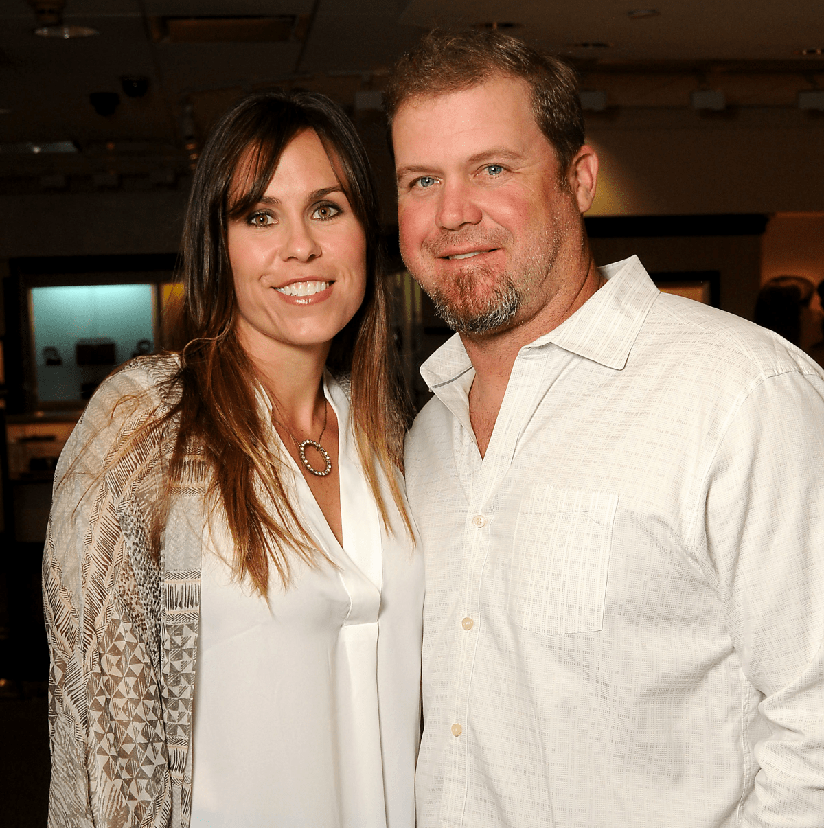 Houston, Project 88 kick-off party, October 2015, Erin and Shane Lechler