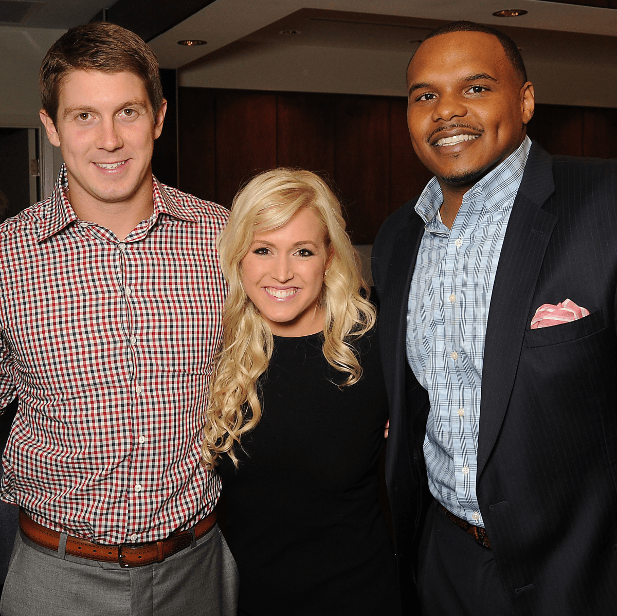 Houston, Project 88 kick-off party, October 2015, Caleb Ramsey, Garrett and Ericka Graham, Chester Pitts