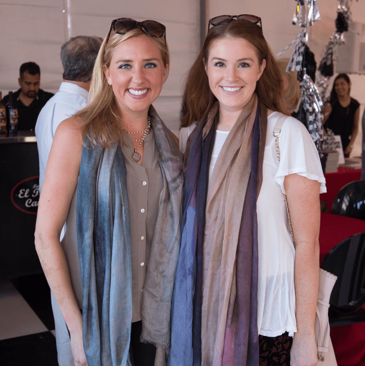 Houston, Mica Mosbacher Racing Forward event, October 2015, Emily Shuffield Hanley, Trevor Thompson