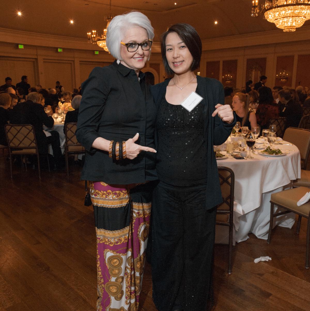 Houston, River Oaks Chamber Orchestra Gala, October 2015, Jenny Knight, Shino Hayashi