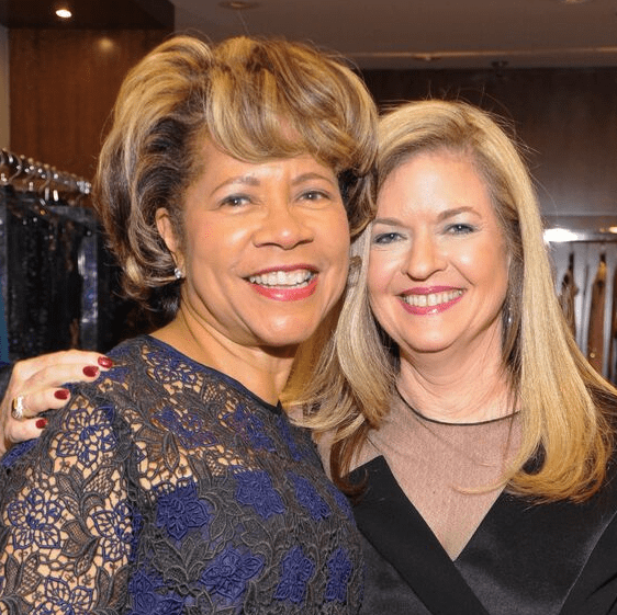 Merele Yarborough, Jane Wagner at Elizabeth Anthony Generations of Glamour