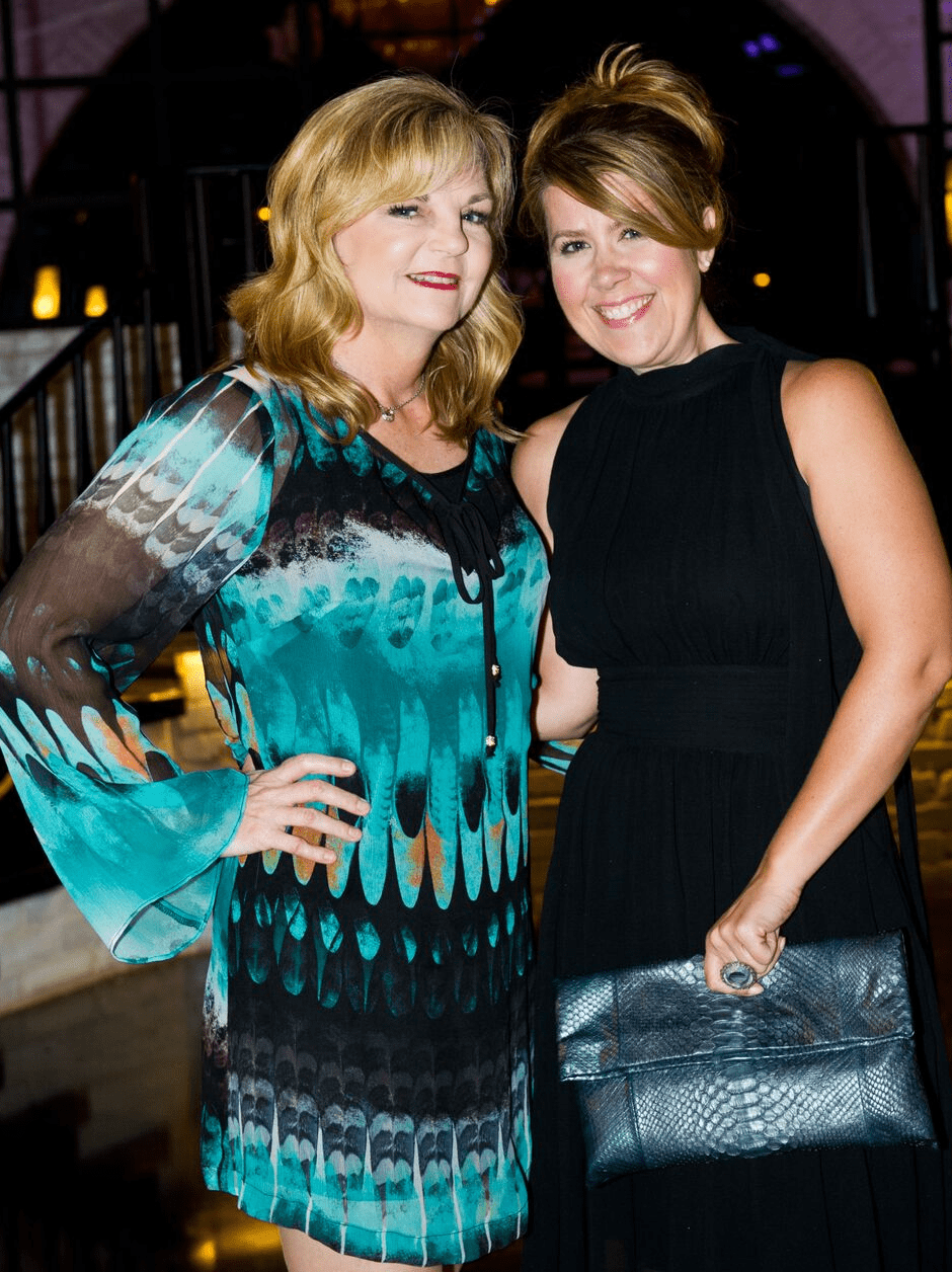 Houston, Friends for Life Among Friends gala, October 2015, Kim Padgett, Holly Crawford.