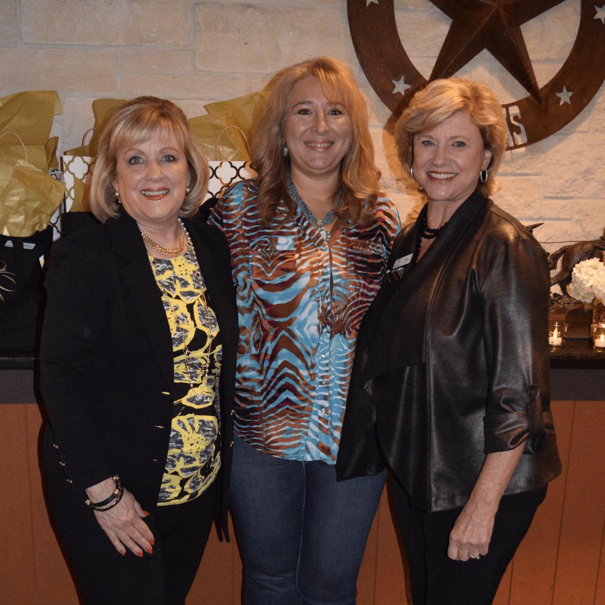 HLSR Trailblazers 2015 Pam Springer, Annie Flores, Susan Buddeke
