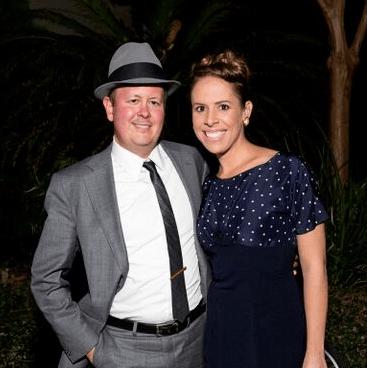 Bayou Preservation Gala 2015 Clark Lord, Jenn Char