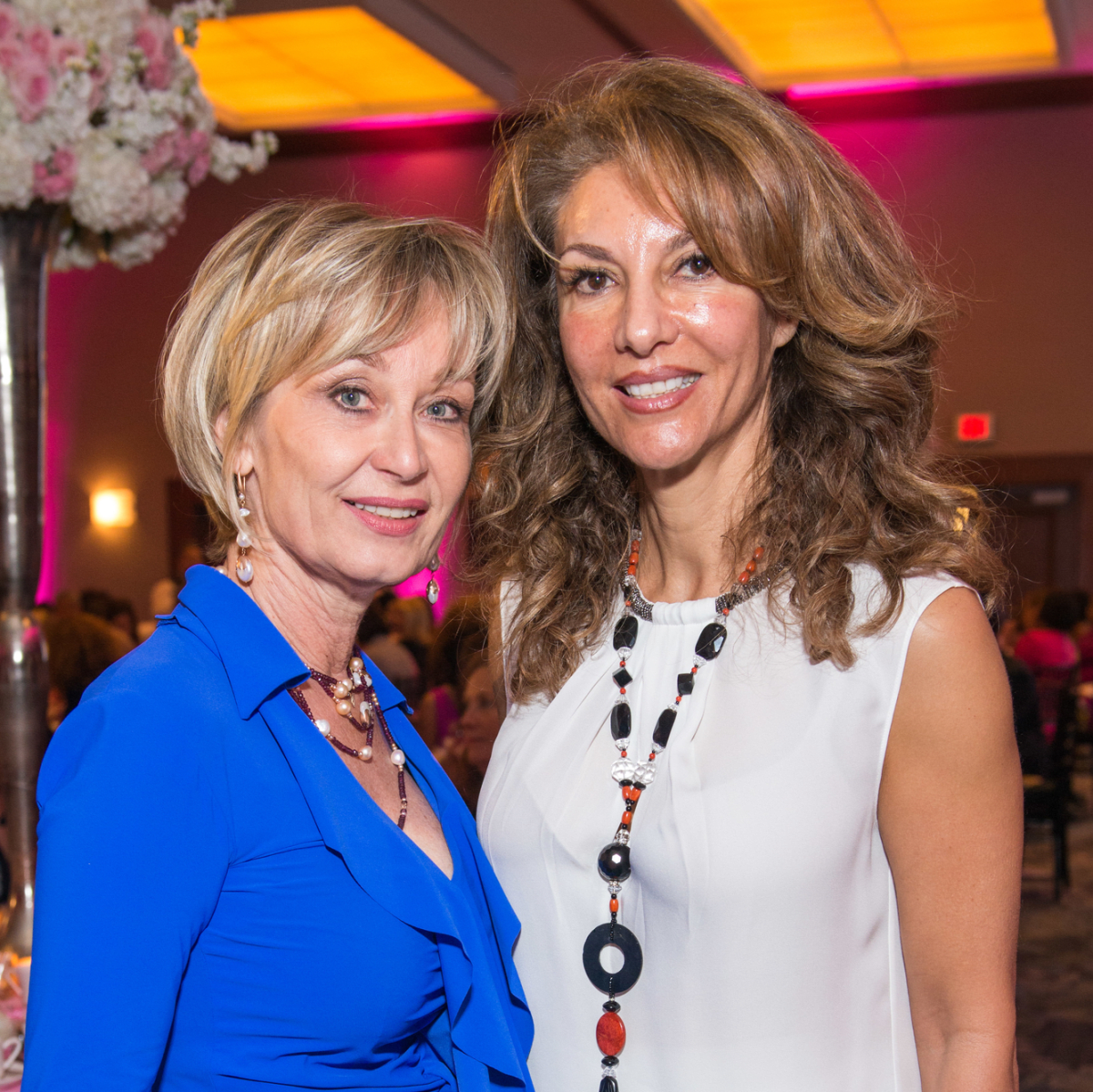 News, Shelby, Razzle Dazzle Memorial Hermann, Oct. 2015 Cathy Borlenghi and Neda Ladjevarian