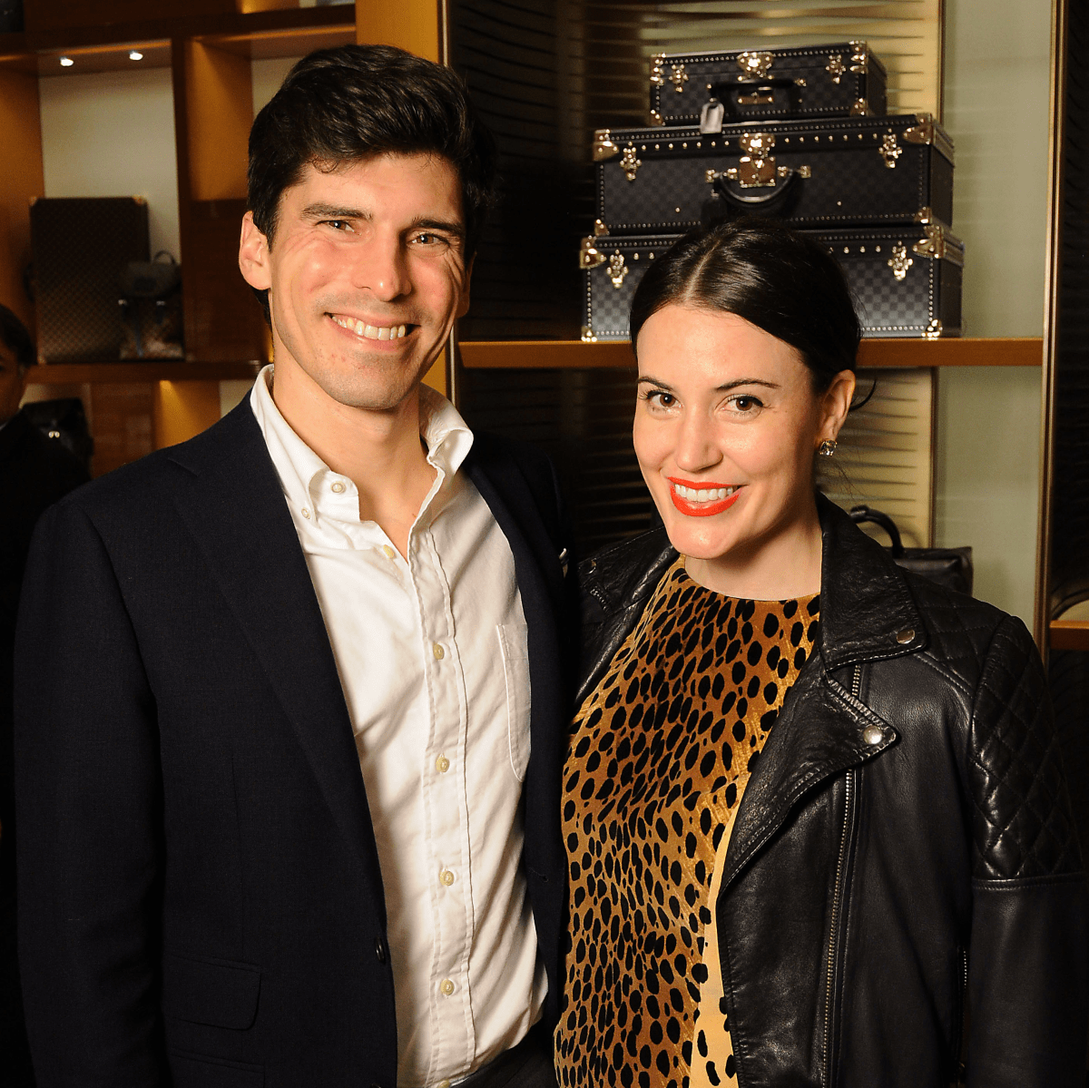 Houston, Louis Vuitton Alley Theatre Salute, September 2015, Will and Valerie Dittner