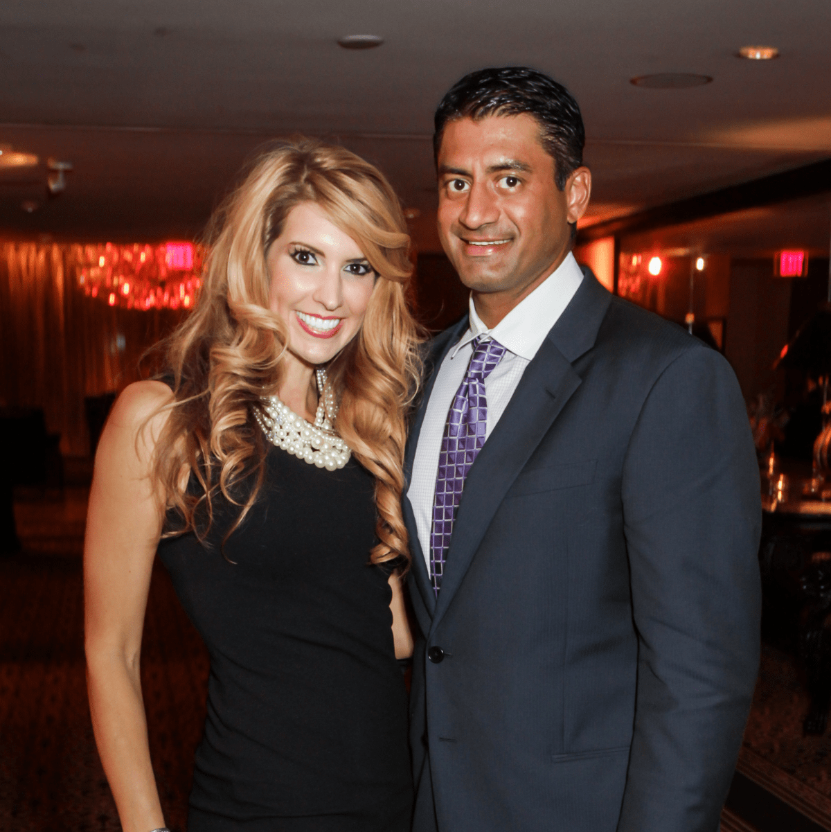 Hearts of Gold Gala Dr. Melissa Dupree and Dr. Navin Subramanian