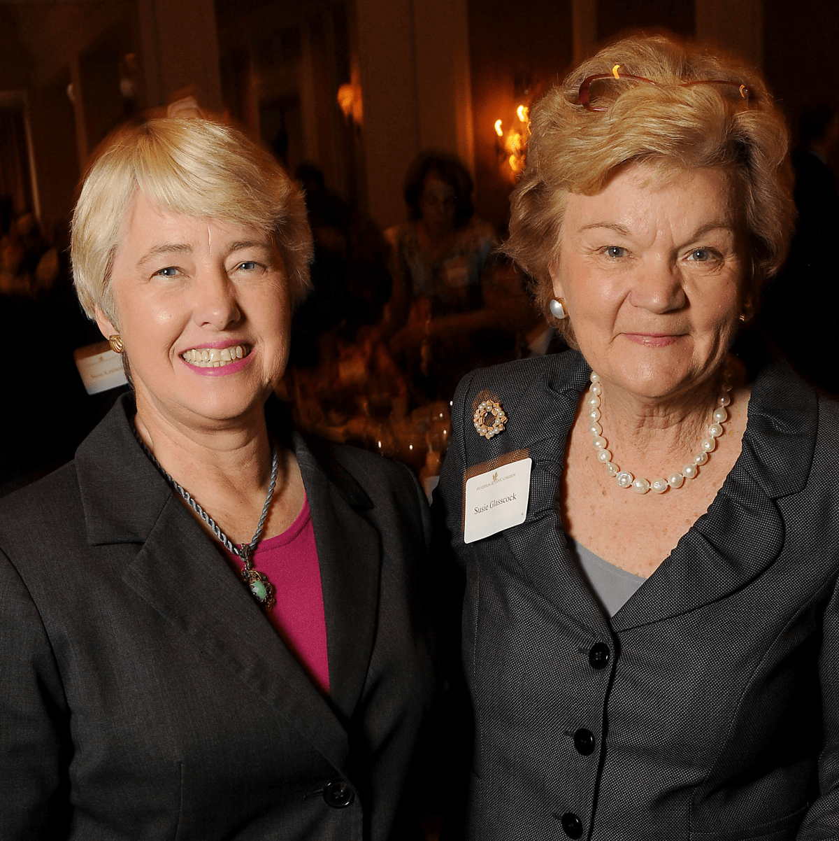 News, Shelby, Houston Botanic Garden Lunch, Sept. 2015, Mayor Annise Parker, Susie Glasscock