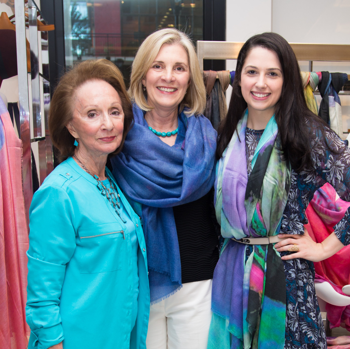 News, Shelby, Ovarian Cancer Awareness Month. tootsies, Sept. 2015, Marilyn Biles, Michele Alvarado, Anna Wilson