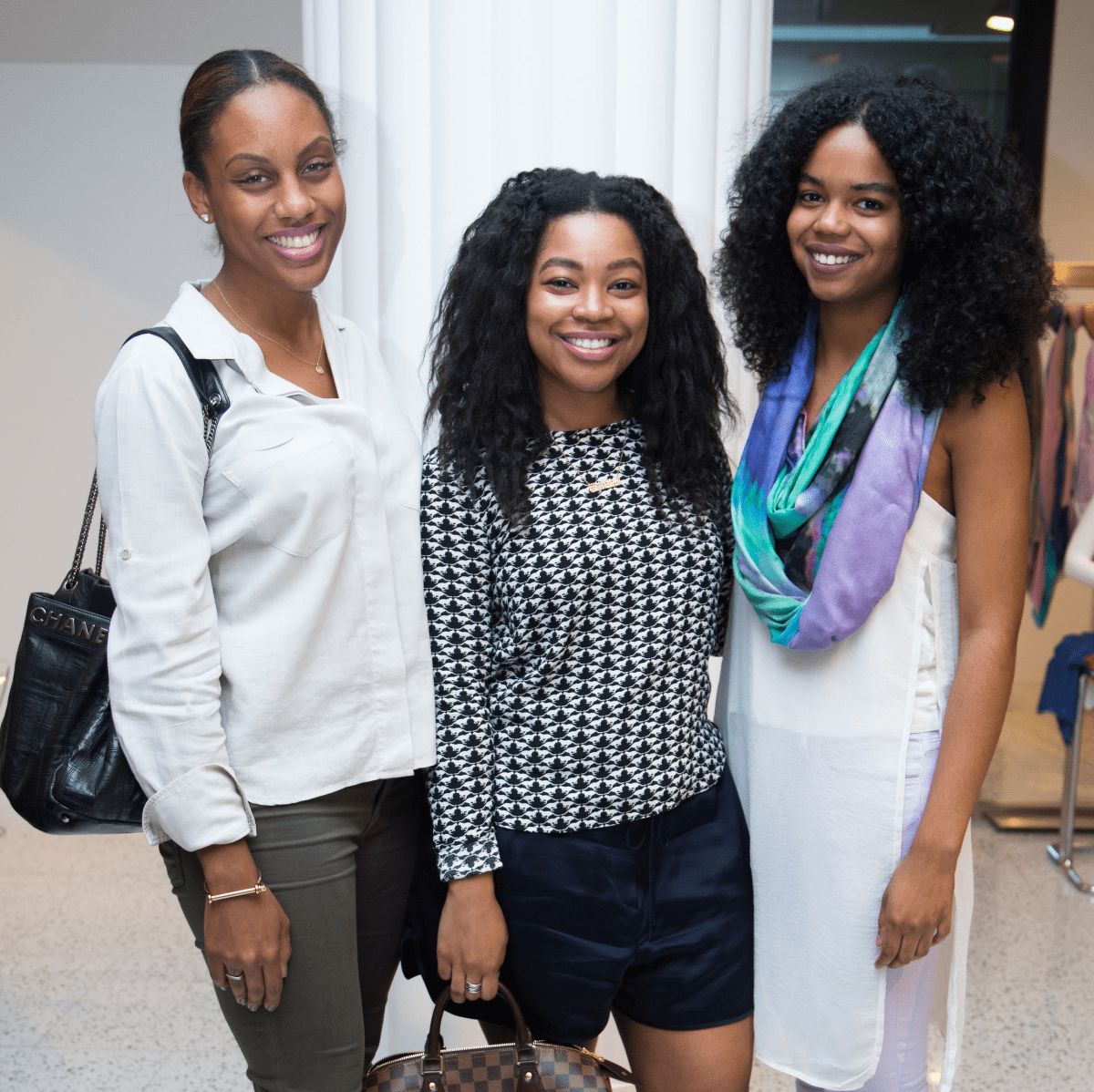 News, Shelby, Ovarian Cancer Awareness Month. tootsies, Sept. 2015, Kara Smith, Gabrielle Sauls, Jailyn Marcel.