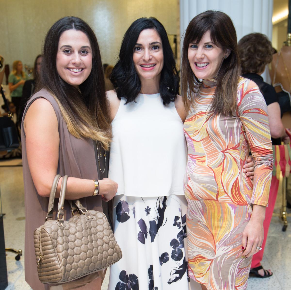 News, Shelby, Ovarian Cancer Awareness Month. tootsies, Sept. 2015,Julie Weinstein, Candace Thomas, Lauren Mills