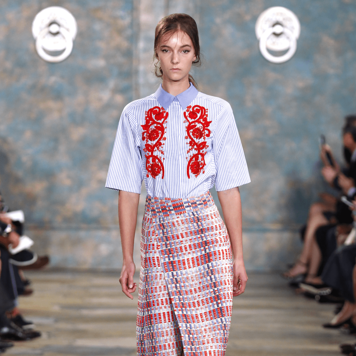 Tory Burch SS 2016 outfit 2