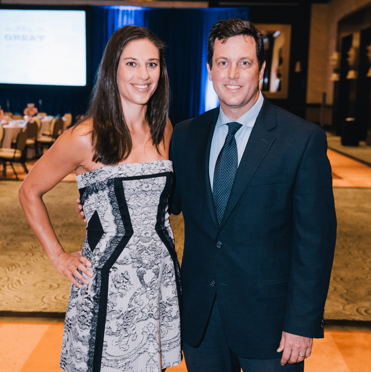 Houston, Boys & Girls Clubs' Great Futures Dinner, September 2015, Carli Lloyd, Chris Canetti