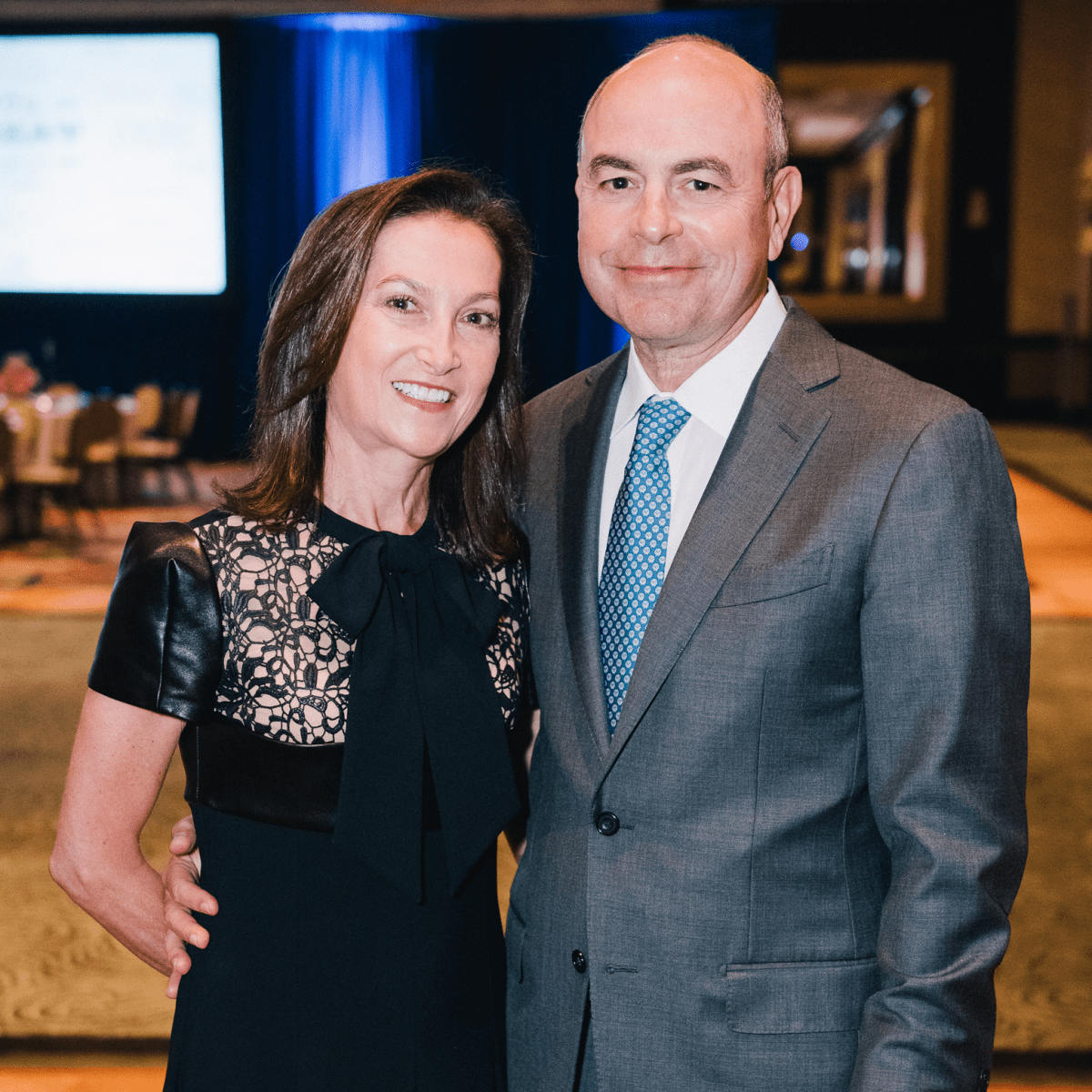 Houston, Boys & Girls Clubs' Great Futures Dinner, September 2015, Patti & Mike Morgan
