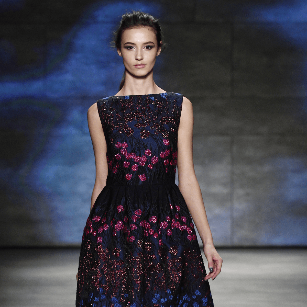 Lela Rose fall 2015 collection look 42