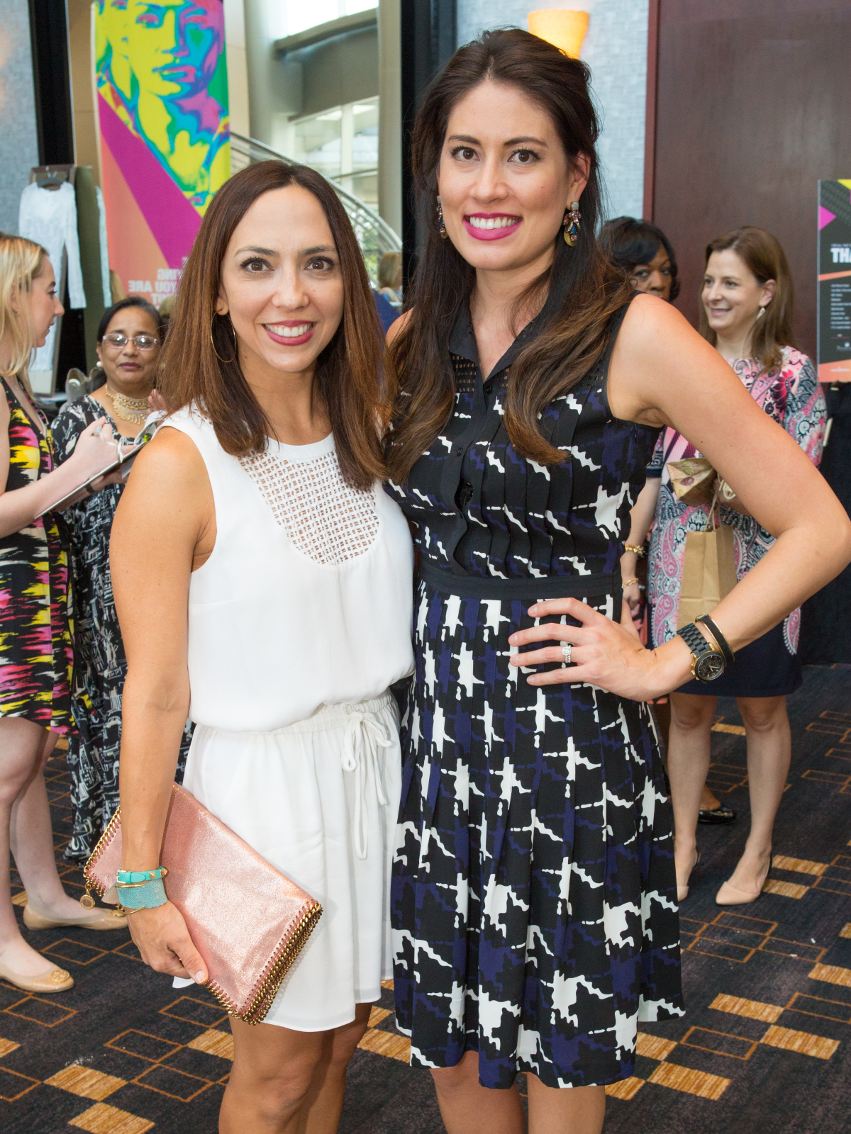 Houston, Woman's Hospital of Texas Labor Day Luncheon, August 2015, Veronica Pullicino, Laureen Lucas