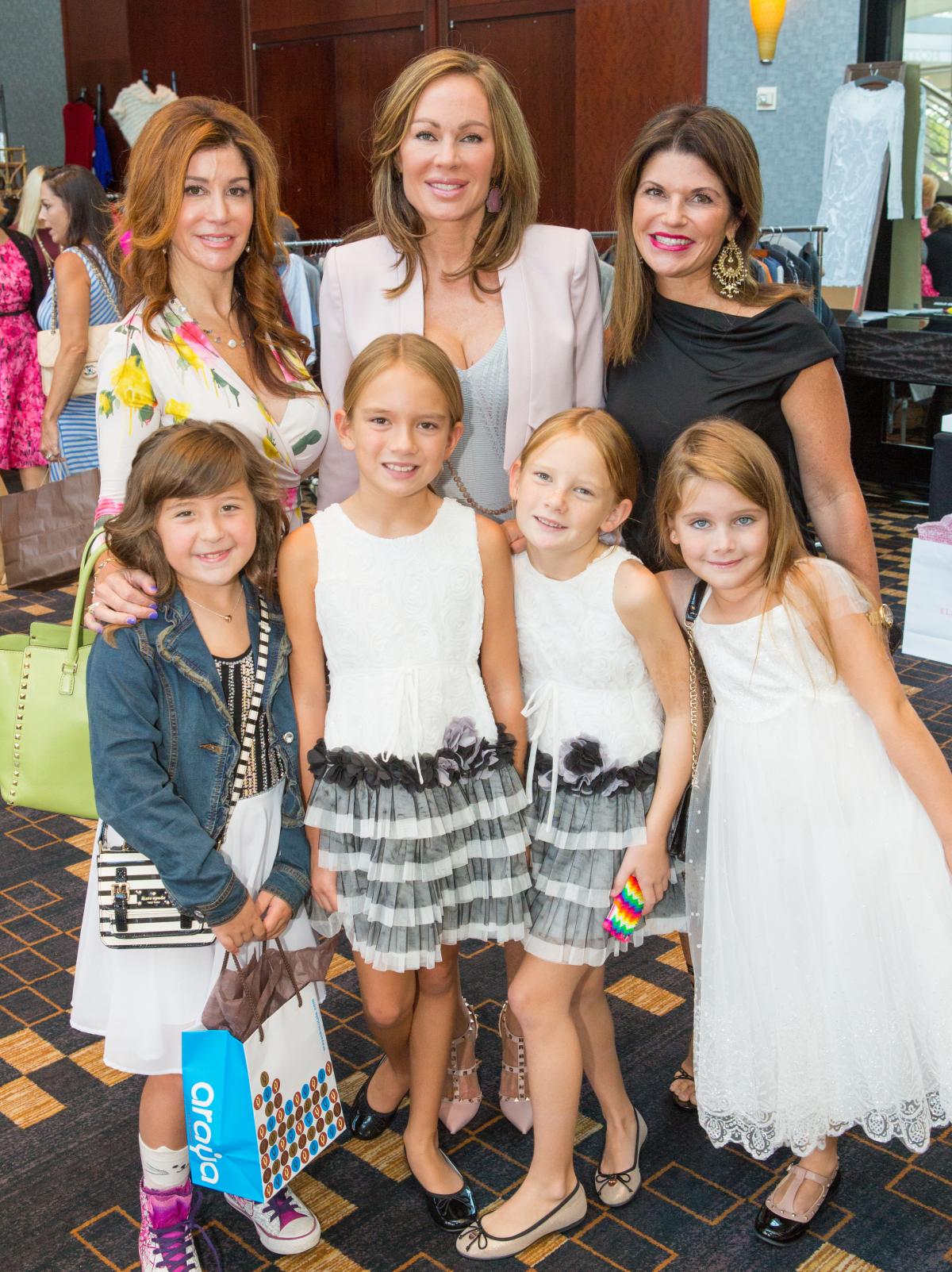Houston, Woman's Hospital of Texas Labor Day Luncheon, August 2015, Vicsandra Jones, Brandi Maxwell, Laura Davenport