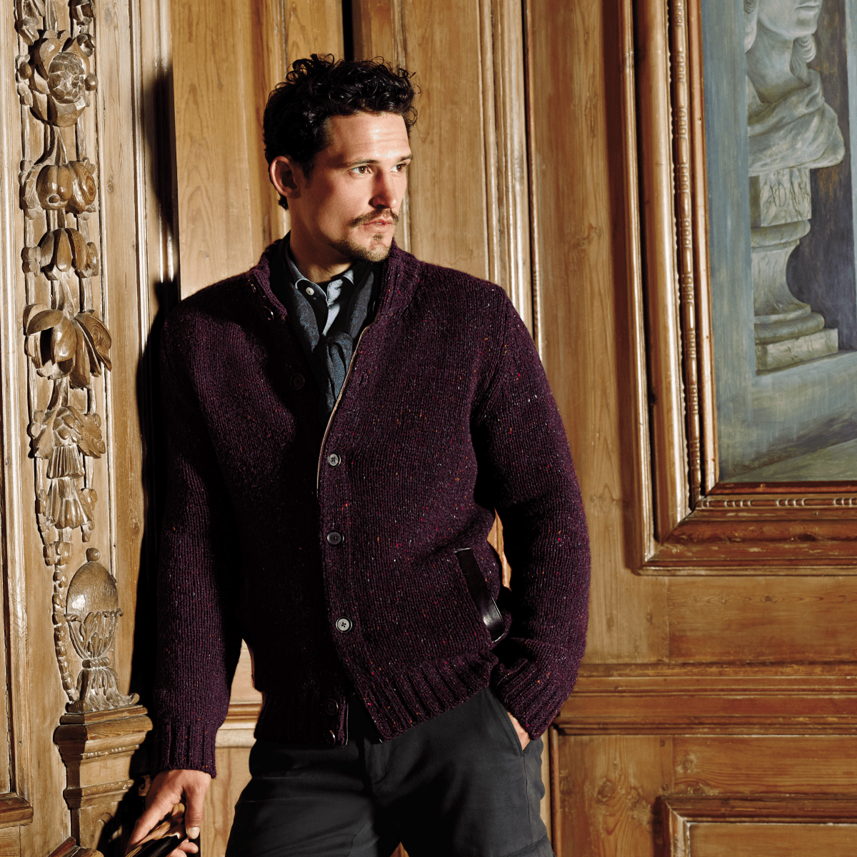 Fall trend men country gentleman