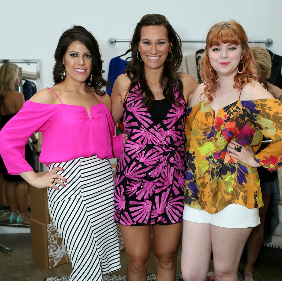 Amy Espinosa, Nina Lowe, Rachel Davis, fdf 2 year anniversary