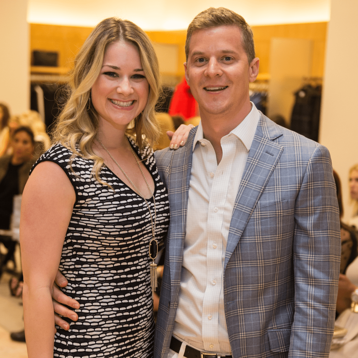 Kate and Chris Robast at Neiman Marcus Trend Event
