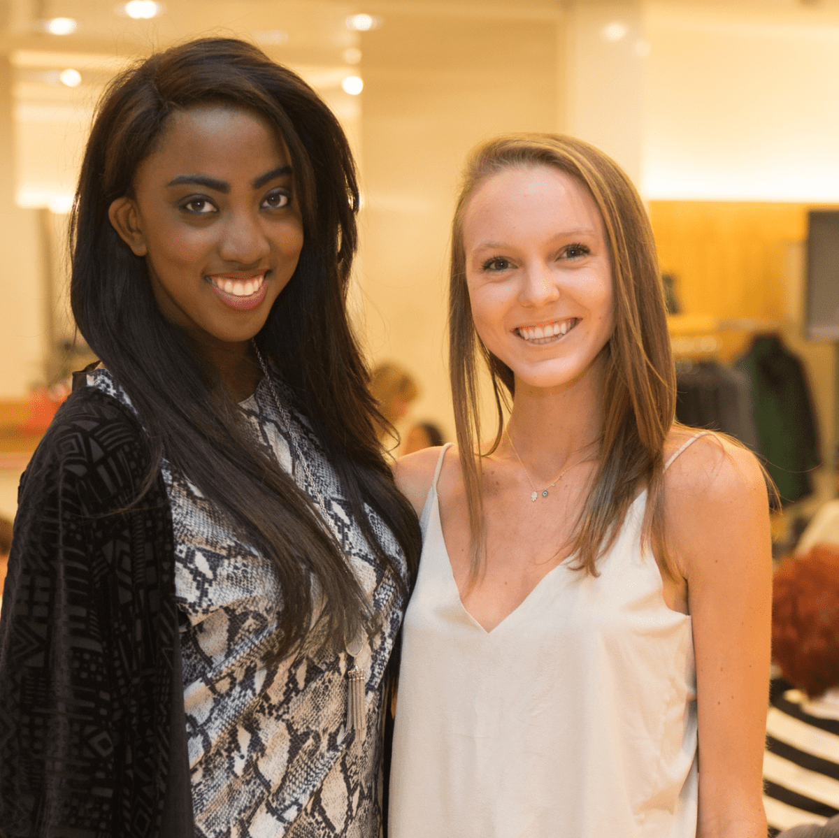 Devon Sells and Alex Odum at Neiman Marcus Trend Event