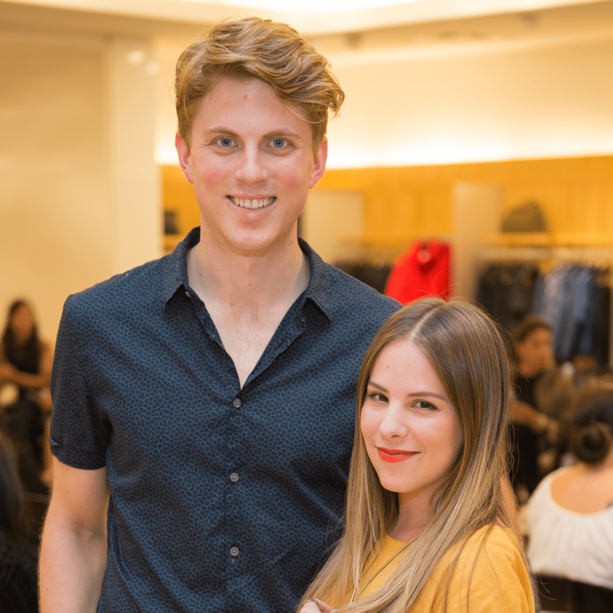 Neiman Marcus Trend Event Jared Burgess and Ana LaVelle
