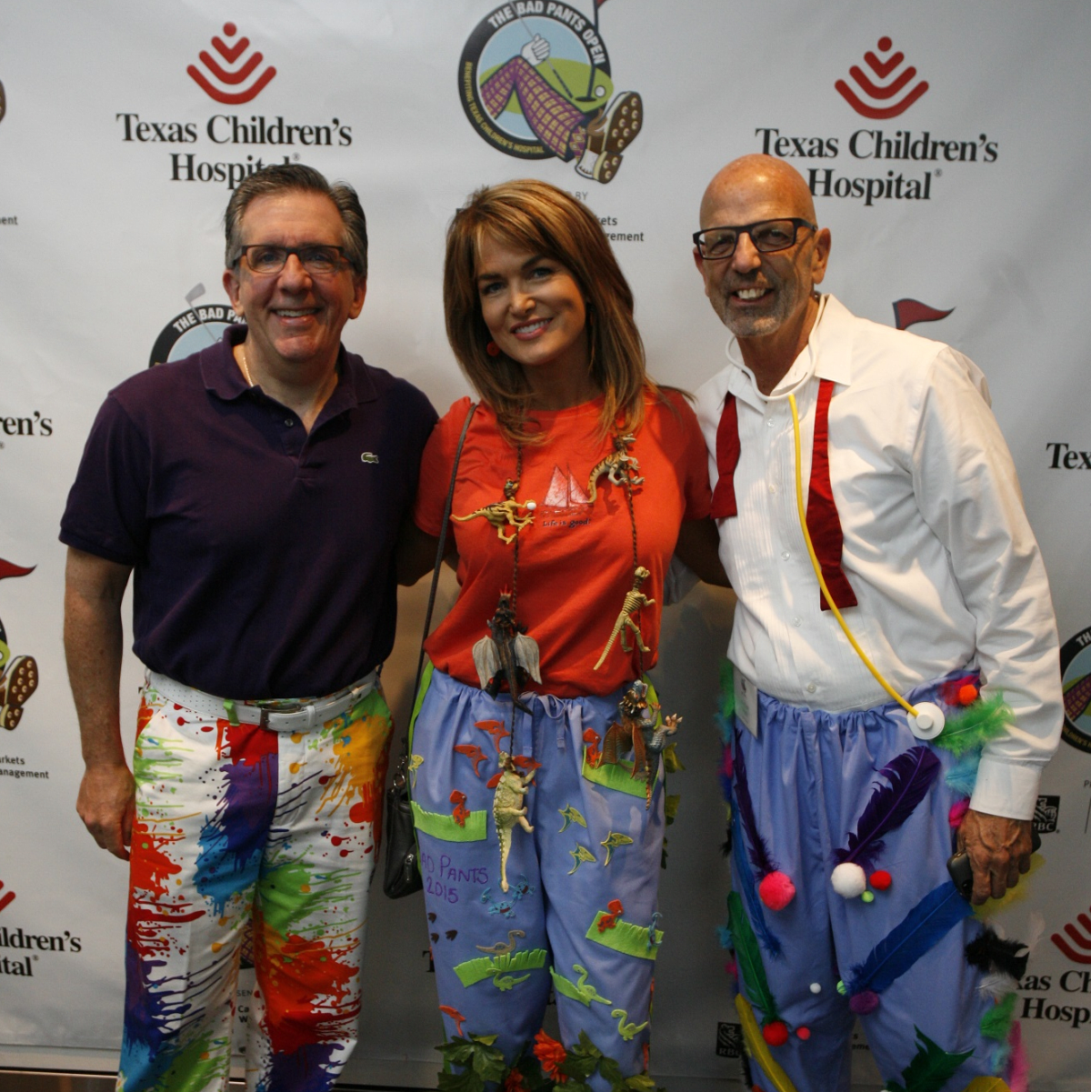 Texas Children's Bad Pants Day 2015