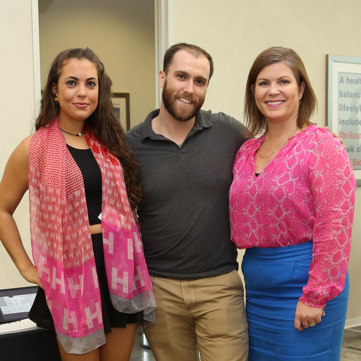 WOW Membership Fiesta 2015 Ally Totah, Chris Grys, Lauren Levicki Courville