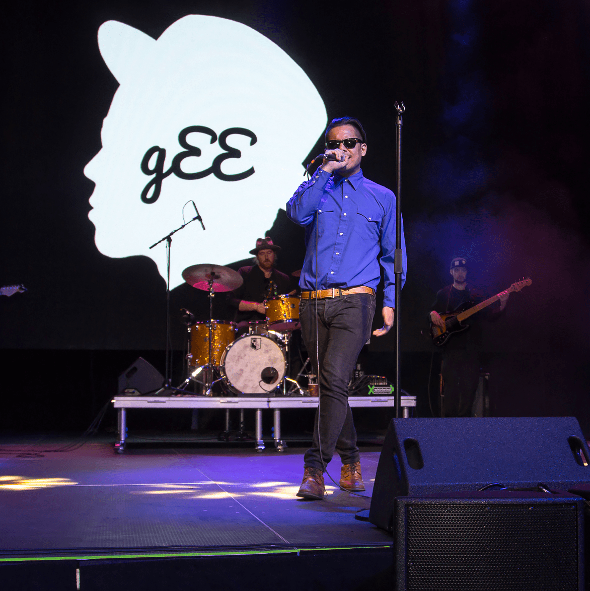 Larry g(EE) at CultureMap Dallas Music Social 2015