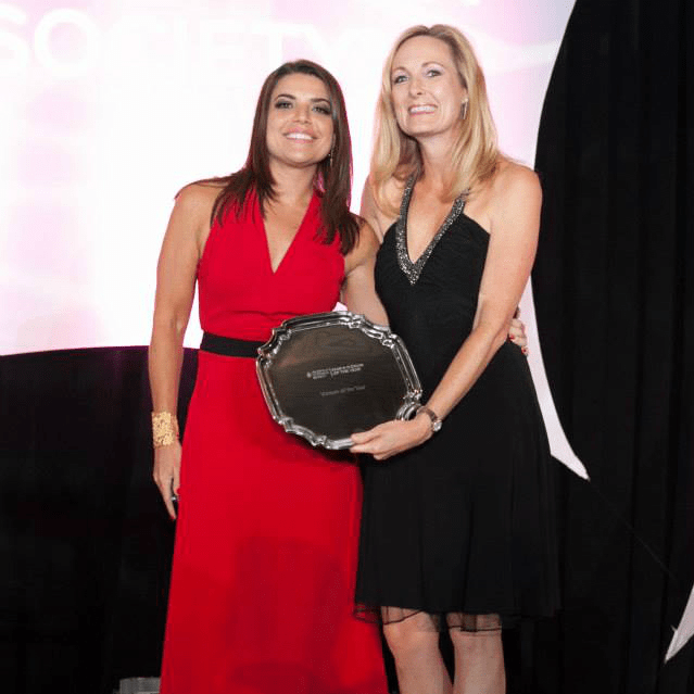 Leukemia & Lymphoma Society's Man & Woman of the Year Gala_Shannon Wolfson_Dana Couch Smith_2015